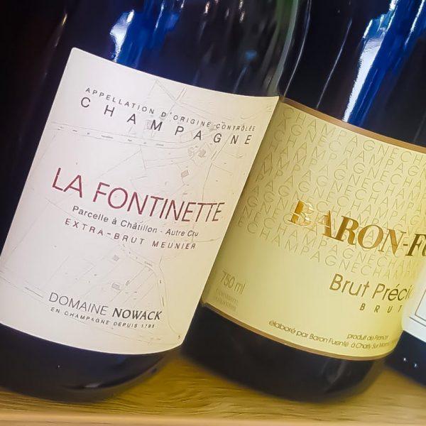 Champagne e vini francesi